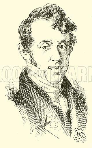 Sigismund Ritter von Neukomm, 1778–1858. Illustration for Cyclopedia of Music and Musicians edited by John Denison Champlin (Charles Scribner, 1889).