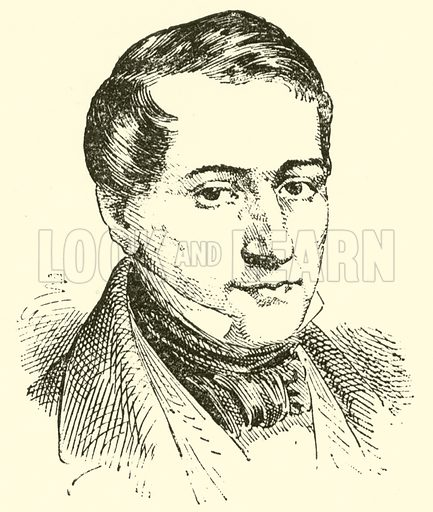 (Carl) Otto (Ehrenfried) Nicolai, 1810–1849. Illustration for Cyclopedia of Music and Musicians edited by John Denison Champlin (Charles Scribner, 1889).