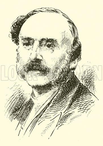 Karl Oberthur. Illustration for Cyclopedia of Music and Musicians edited by John Denison Champlin (Charles Scribner, 1889).