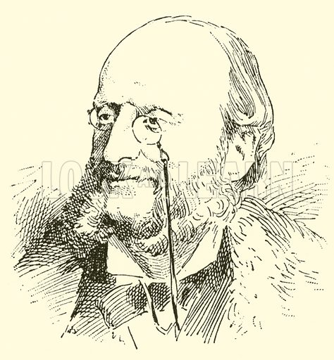 Jacques Offenbach, 1819–1880. Illustration for Cyclopedia of Music and Musicians edited by John Denison Champlin (Charles Scribner, 1889).