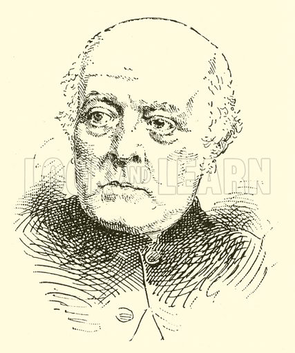 Reverend Sir Frederick Arthur Gore Ouseley, 1825-1889. Illustration for Cyclopedia of Music and Musicians edited by John Denison Champlin (Charles Scribner, 1889).