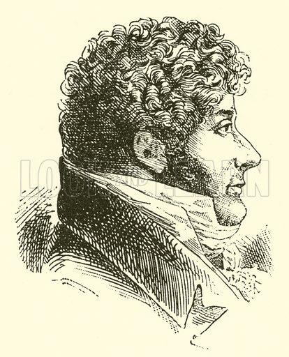Ferdinando Paer, 1771–1839. Illustration for Cyclopedia of Music and Musicians edited by John Denison Champlin (Charles Scribner, 1889).