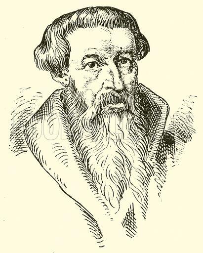 Leonhardt Paminger. Illustration for Cyclopedia of Music and Musicians edited by John Denison Champlin (Charles Scribner, 1889).