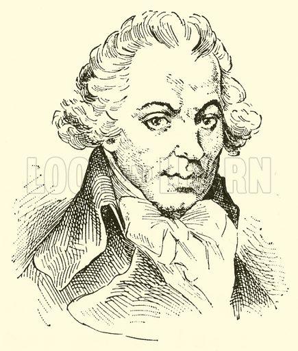 Ignaz Josef Pleyel, 1757–1831. Illustration for Cyclopedia of Music and Musicians edited by John Denison Champlin (Charles Scribner, 1889).