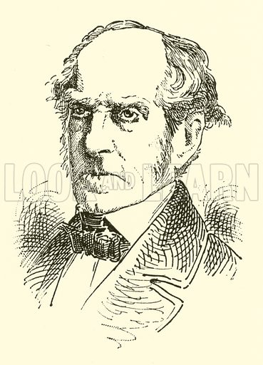 (Philip) Cipriani (Hambly) Potter, 1792–1871. Illustration for Cyclopedia of Music and Musicians edited by John Denison Champlin (Charles Scribner, 1889).