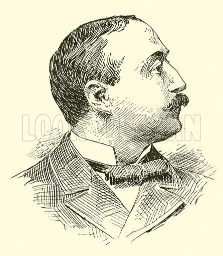 Silas Gamaliel Pratt. Illustration for Cyclopedia of Music and Musicians edited by John Denison Champlin (Charles Scribner, 1889).