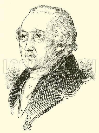 Johann Friedrich Rochlitz, 1769–1842. Illustration for Cyclopedia of Music and Musicians edited by John Denison Champlin (Charles Scribner, 1889).