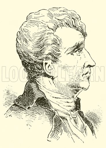 Claude Joseph Rouget de Lisle. Illustration for Cyclopedia of Music and Musicians edited by John Denison Champlin (Charles Scribner, 1889).