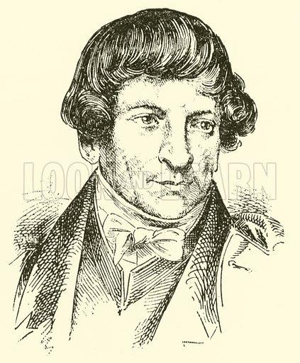 Carl Friedrich Rungenhagen, 1778–1851. Illustration for Cyclopedia of Music and Musicians edited by John Denison Champlin (Charles Scribner, 1889).