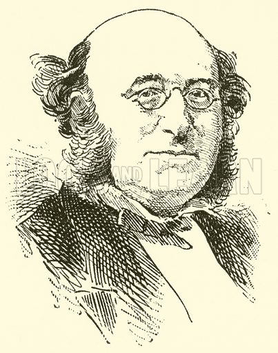 Charles Kensington Salaman. Illustration for Cyclopedia of Music and Musicians edited by John Denison Champlin (Charles Scribner, 1889).