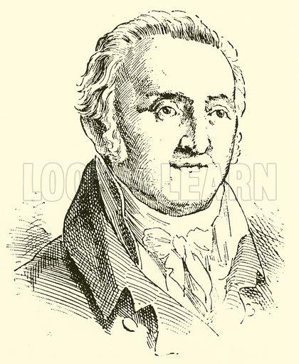 Johann Gottfried Schicht, 1753–1823. Illustration for Cyclopedia of Music and Musicians edited by John Denison Champlin (Charles Scribner, 1889).