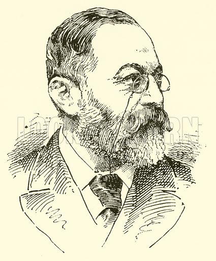 (Carl Wilhelm) Adolf Schlosser. Illustration for Cyclopedia of Music and Musicians edited by John Denison Champlin (Charles Scribner, 1889).