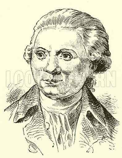 Johann Abraham Peter Schulz, 1747–1800. Illustration for Cyclopedia of Music and Musicians edited by John Denison Champlin (Charles Scribner, 1889).