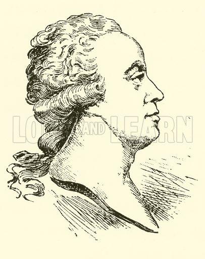 Joseph Schuster, 1748–1812. Illustration for Cyclopedia of Music and Musicians edited by John Denison Champlin (Charles Scribner, 1889).