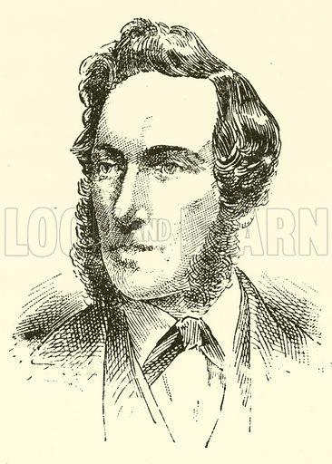 Ernesto Camillo Sivori. Illustration for Cyclopedia of Music and Musicians edited by John Denison Champlin (Charles Scribner, 1889).