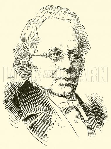 George (Thomas) Smart. Illustration for Cyclopedia of Music and Musicians edited by John Denison Champlin (Charles Scribner, 1889).
