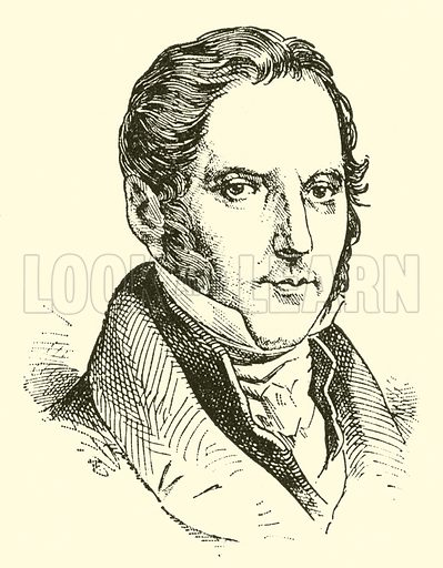 Louis Spohr, 1784–1859. Illustration for Cyclopedia of Music and Musicians edited by John Denison Champlin (Charles Scribner, 1889).