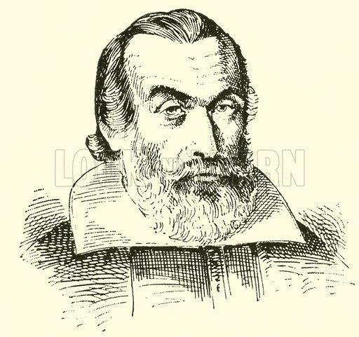 Johann Staden, 1579–1634. Illustration for Cyclopedia of Music and Musicians edited by John Denison Champlin (Charles Scribner, 1889).