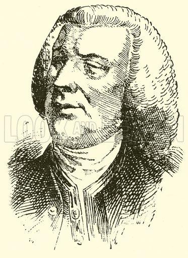 John Stanley, 1713–1786. Illustration for Cyclopedia of Music and Musicians edited by John Denison Champlin (Charles Scribner, 1889).