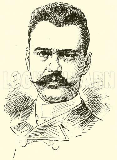 Constantin Ivanovitch Edler von Sternberg. Illustration for Cyclopedia of Music and Musicians edited by John Denison Champlin (Charles Scribner, 1889).
