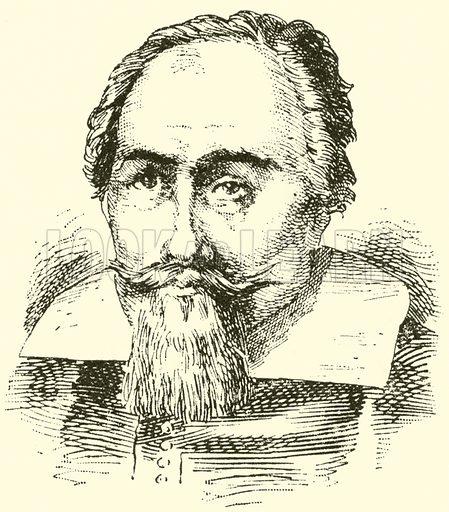 Johann Stobaus. Illustration for Cyclopedia of Music and Musicians edited by John Denison Champlin (Charles Scribner, 1889).