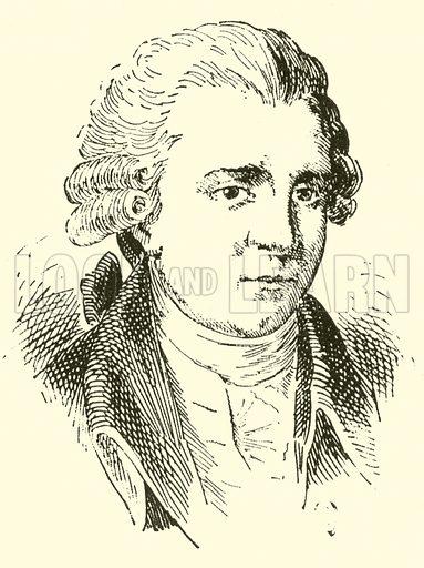 Antonio Tozzi, 1736–1812. Illustration for Cyclopedia of Music and Musicians edited by John Denison Champlin (Charles Scribner, 1889).