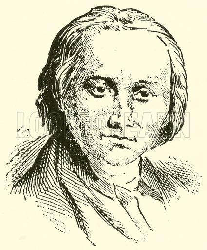 Abt Georg Joseph Vogler. Illustration for Cyclopedia of Music and Musicians edited by John Denison Champlin (Charles Scribner, 1889).