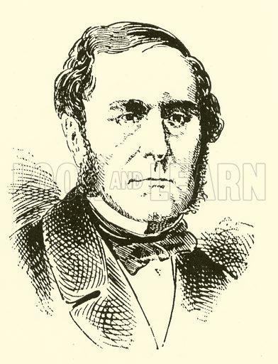 Samuel Sebastian Wesley, 1810–1876. Illustration for Cyclopedia of Music and Musicians edited by John Denison Champlin (Charles Scribner, 1889).