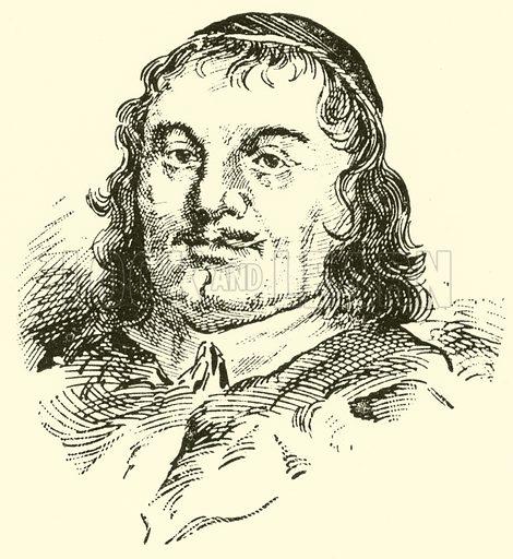 John Wilson, 1594–1673. Illustration for Cyclopedia of Music and Musicians edited by John Denison Champlin (Charles Scribner, 1889).