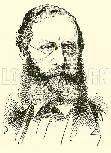 Franz Wullner. Illustration for Cyclopedia of Music and Musicians edited by John Denison Champlin (Charles Scribner, 1889).