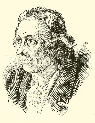 Karl Friedrich Zelter, 1758–1832. Illustration for Cyclopedia of Music and Musicians edited by John Denison Champlin (Charles Scribner, 1889).