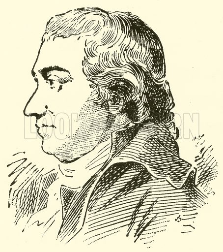 Johann Rudolf Zumsteeg, 1760–1802. Illustration for Cyclopedia of Music and Musicians edited by John Denison Champlin (Charles Scribner, 1889).