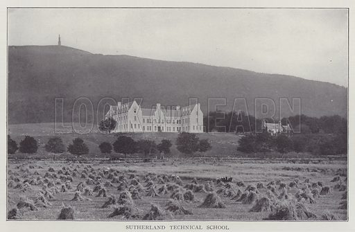 Sutherland Technical School. Illustration for The Teacher's Encyclopaedia edited by AP Laurie (Caxton, 1911).