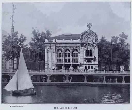 Le Palais De La Danse. Illustration for Le Panorama, Exposition Universelle, Paris, 1900 (Librairie d'Art).
