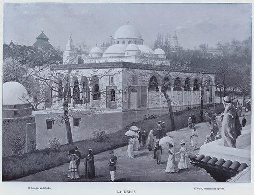La Tunisie. Illustration for Le Panorama, Exposition Universelle, Paris, 1900 (Librairie d'Art).