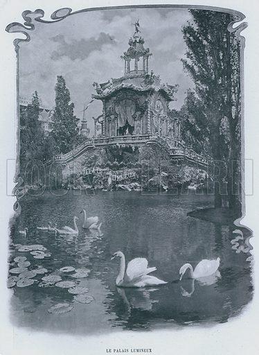 Le Palais Lumineux. Illustration for Le Panorama, Exposition Universelle, Paris, 1900 (Librairie d'Art).
