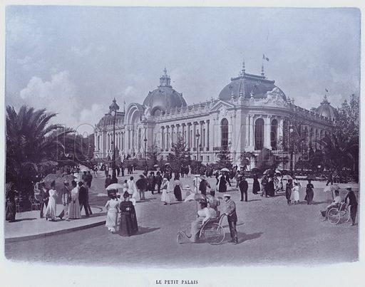 Le Petit Palais. Illustration for Le Panorama, Exposition Universelle, Paris, 1900 (Librairie d'Art).