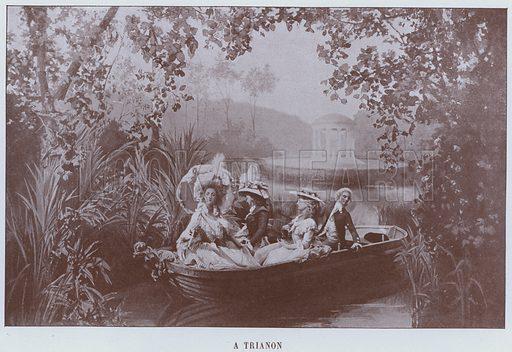 A Trianon. Illustration for Le Panorama, Exposition Universelle, Paris, 1900 (Librairie d'Art).