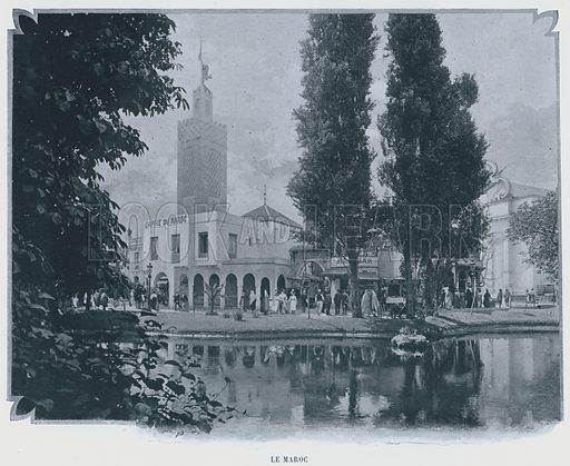 Le Maroc. Illustration for Le Panorama, Exposition Universelle, Paris, 1900 (Librairie d'Art).
