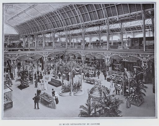 Le Musee Retrospectif Du Costume. Illustration for Le Panorama, Exposition Universelle, Paris, 1900 (Librairie d'Art).
