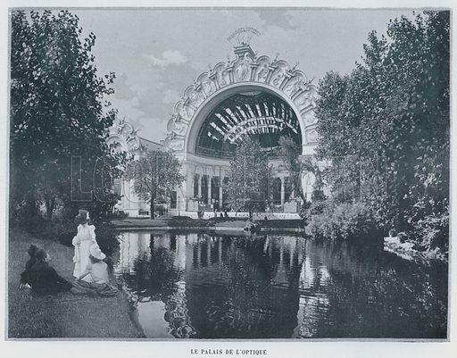 Le Palais De L'Optique. Illustration for Le Panorama, Exposition Universelle, Paris, 1900 (Librairie d'Art).