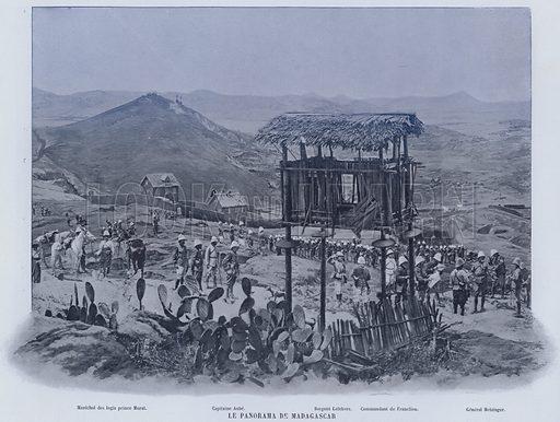 Le Panorama De Madagascar. Illustration for Le Panorama, Exposition Universelle, Paris, 1900 (Librairie d'Art).