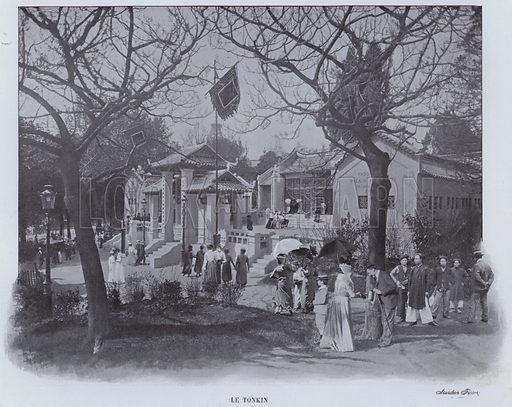 Le Tonkin. Illustration for Le Panorama, Exposition Universelle, Paris, 1900 (Librairie d'Art).