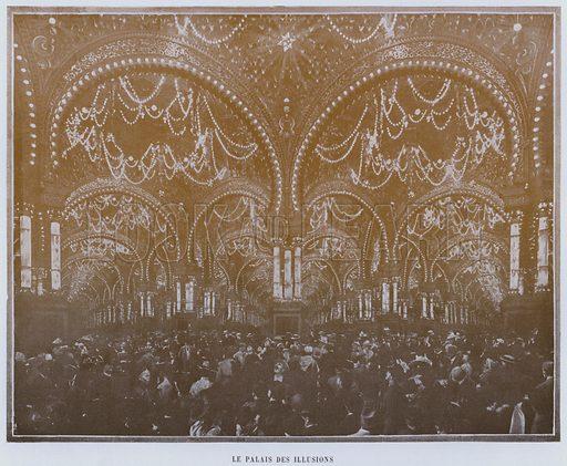 Le Palais Des Illusions. Illustration for Le Panorama, Exposition Universelle, Paris, 1900 (Librairie d'Art).