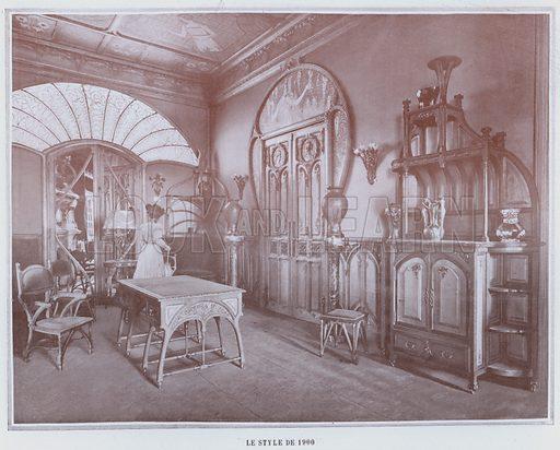 Le Style De 1900. Illustration for Le Panorama, Exposition Universelle, Paris, 1900 (Librairie d'Art).