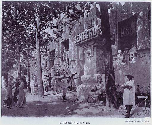 Le Soudan Et Le Senegal. Illustration for Le Panorama, Exposition Universelle, Paris, 1900 (Librairie d'Art).