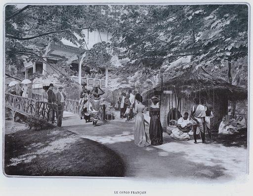 Le Congo Francais. Illustration for Le Panorama, Exposition Universelle, Paris, 1900 (Librairie d'Art).