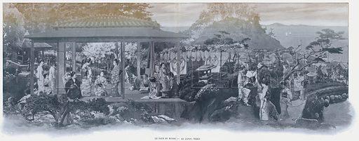 Le Tour Du Monde, Au Japon, Nikko. Illustration for Le Panorama, Exposition Universelle, Paris, 1900 (Librairie d'Art).