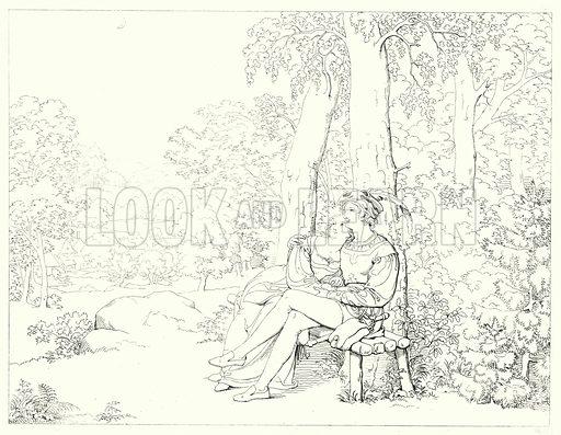 Umrisse zu Schiller's Lied von der Glocke nebst Andeutungen by Moritz Retzsch (JG Cotta'scher Verlag, 1853).
