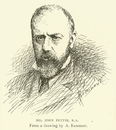 Mr John Pettie, RA Illustration for Illustrations, a Pictorial Review of Knowledge (W Kent, 1889).